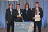 Thomas & Claus Guglhör erhalten Preis von Wirtschaftsministerin Ilse Aigner