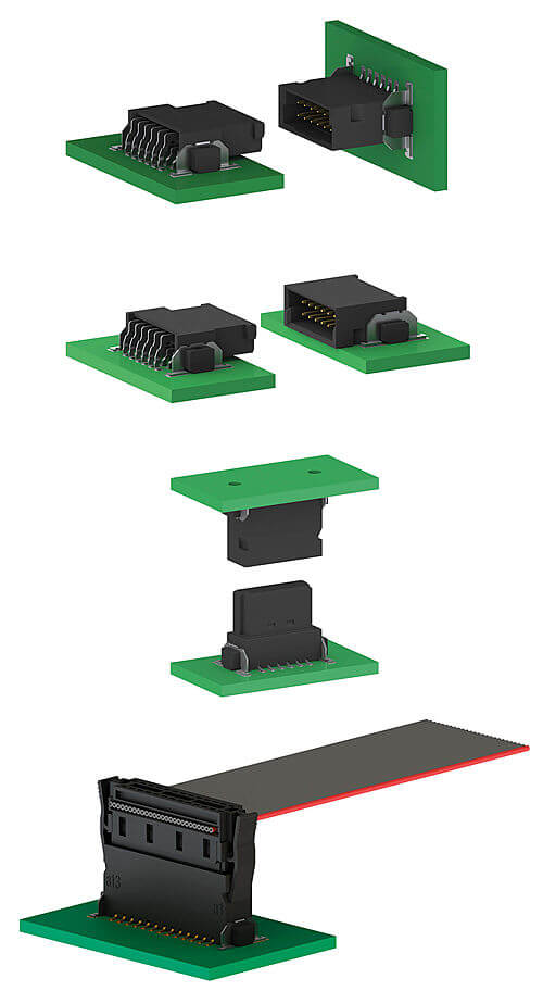 Applications for One27 SMT PCB Connectors from ept