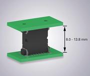 Mit One27-SMT-Steckverbindern unterschiedliche Leiterplattenabstände generieren
