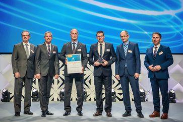 Thomas Guglhör und Ulrich Stanke erhalten den supplier of the year Award 2017
