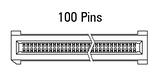 Abmessung EC.8 gerade 100-polig