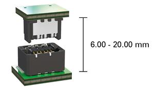 Zero8 LeiterplattenabstA nde parallel