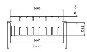 DIN H15 FL Zeichnung Abmessungen1 v2