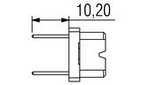 DIN H15 flach FL Lot Anschlusslaenge 13 Zeichnung v2