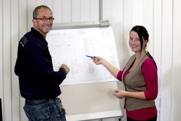Technische Produktdesigner in der Konstruktion