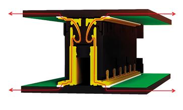 Kontaktdesign des SMT Steckverbinders Colibri 16+