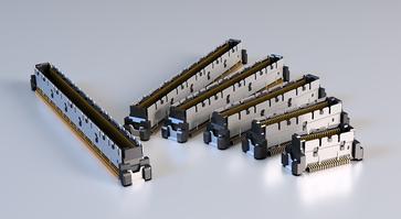 SMT-Steckverbinder Colibri in verschiedenen Bauhöhen