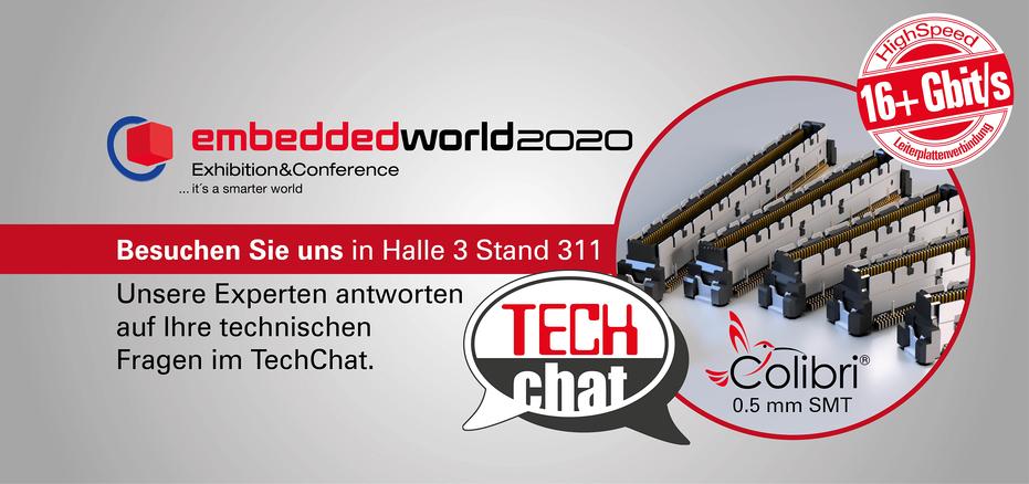 Slide Startseite embeddedworld 2020 Deutsch 2000x940px