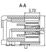 Zero8 Socket Profilschnitt