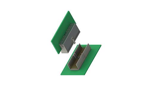 Hartmetrische Steckverbinder IEC 61076-4-101, Raster 2 mm
