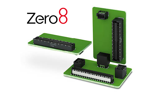 Zero8 Leiterplattensteckverbinder 515x300