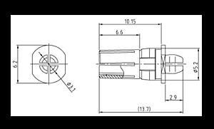 DIN M FL Power Zeichnung