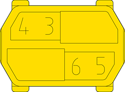 hm Kodiereinsatz ML 3456 Zeichnung